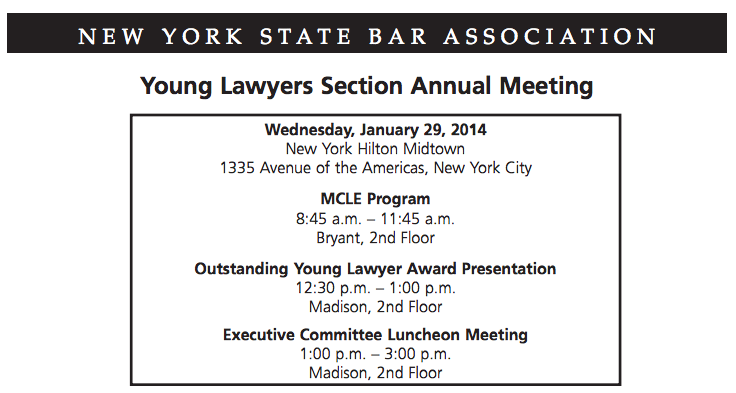 Upcoming Event: January 29, 2014 - Partner Michael Moskowitz Speaks on Consumer & Corporate Bankruptcy Issues